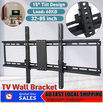 "32-85"" Universal TV Wall Mount Bracket VESA Tilt Swivel Flat Slim Plasma LCD LED"