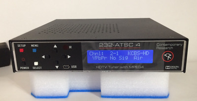 CONTEMPORARY RESEARCH HDTV TUNER with MPEG4 232-ATSC 4