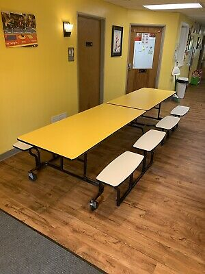 Cafeteria Lunch Table