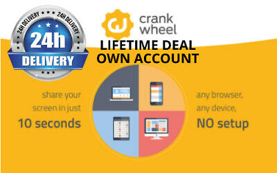 Crankwheel Lifetime Access | Screen Sharing | Business Leads | Lead Capture