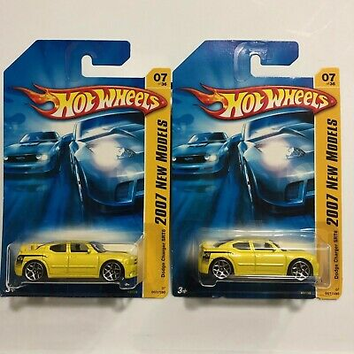 HOT WHEELS VHTF 2007 New Models Series Dodge Charger Srt8 - $5 75