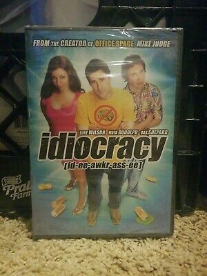 Idiocracy New DVD! Ships Fast!