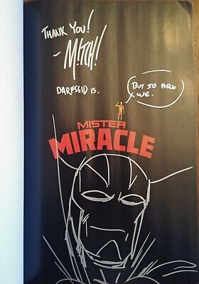 Mitch Gerads Signed & Sketch (Title Page) Mister Miracle Tpb #1-12 Original Art