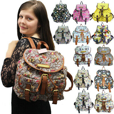 Anna Smith Girls Back to School Womens Backpack College Rucksack Ladies Handbag