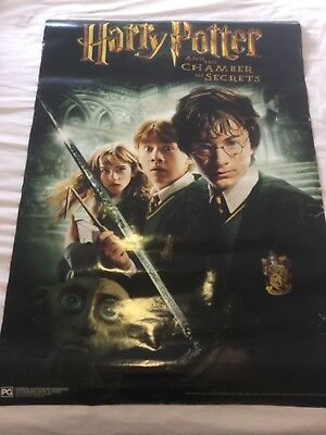 Poster Harry Potter and the Chamber of Secrets (Harry Ron Hermione and Dobby)