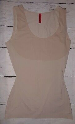 SPANX Trust Your ThinStincts Nude Control Shapewear Tank Top Womens Size small