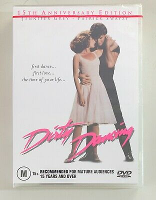 Patrick Swayze Jennifer Grey DIRTY DANCING (15TH ANNIVERSARY EDITION) Sealed DVD