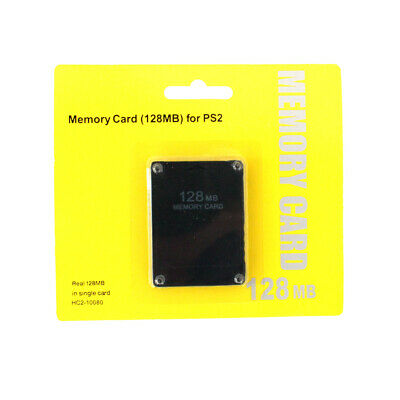 128mb Megabyte Memory Card For Sony Playstation 2 / Playstation 2 Slim 128MB