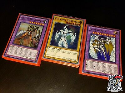 Yu-Gi-Oh! Neo-Spacian Collection Deck  + New Ultra Pro Sleeves