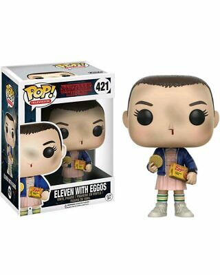 Stranger Things Eleven With Eggos Pop Vinyl Figure One Size