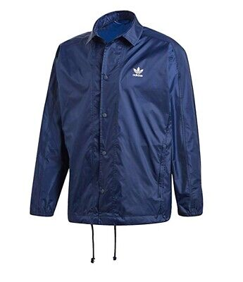 Adidas Originals  Blue Jacket. Size M. New Mens Free Postage