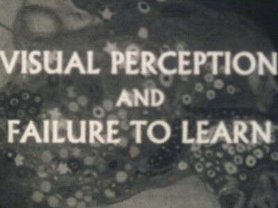 Visual Perception And Failure To Learn 16mm short film 1967 B&W