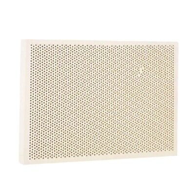 Wood Honeycomb Soldering Board Plate For Jewelry Heating Paint Printing T4M5