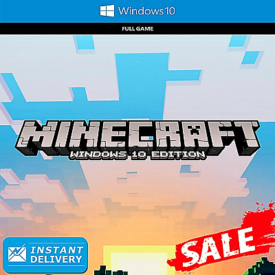 Minecraft: Windows 10 Edition (Activation Key | PC | Instant Delivery)