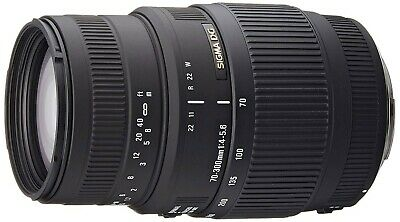 Sigma Sigma 70-300mm F4-5.6 DG MACRO Lens - Canon Fit. IT'S NOT FROM HONG KONG
