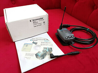 Broncolor RFS slave transceiver for PC/Mac, new unused