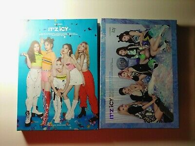 Itzy It'z Icy Album [Choose Member] No Photocards