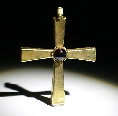 Very Large Roman Gold Cross  - Circa 2Nd To 5Th Century Ad