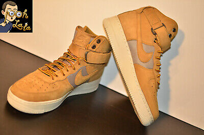 NIKE AIR FORCE 1 High Premium GS Youth Wheat Khaki Light