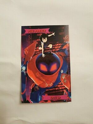 Peni Parker Spiderman into the spider verse Film Card