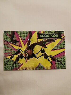 Scorpion Spiderman into the spider verse Film Card