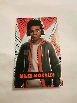 Miles Morales Spiderman into the spider verse Film Card