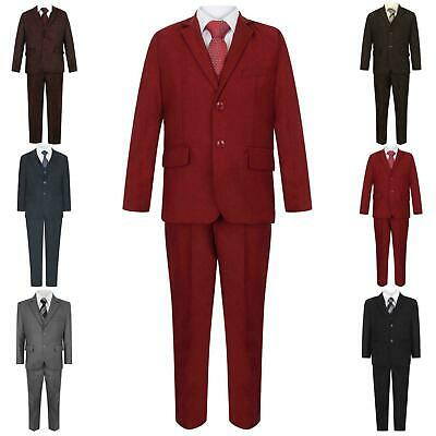 Brand New Boys Formal 5Piece Suit Boy Prom Wedding Suit Ages 1 To 15
