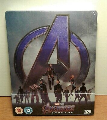 Avengers: Endgame [SteelBook] [3D Blu-ray+Blu-ray] New & Sealed - NOW AVAILABLE!