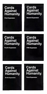 Cards Against Humanity Australian Edition 1,2,3,4,5,6 Expansions Free Shipping