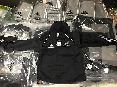New With Tags Authentic All Blacks Adidas jackets Sizes 6,8,10,12,14 And 16