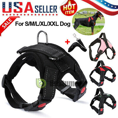 Pet Control Harness for Dog Soft Mesh Walk Large Small Medium XXL Camo Red Black