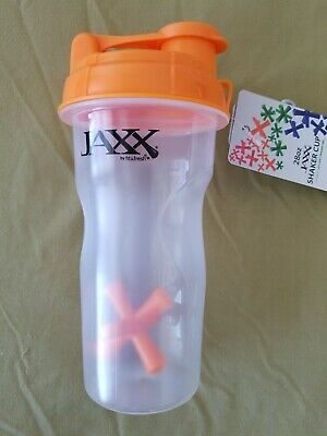 JAXX Shaker Cup by Fit & Fresh, 28 oz; PBA Free: Bright Orange