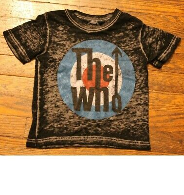 The Who Logo Baby Shirt 18 Months