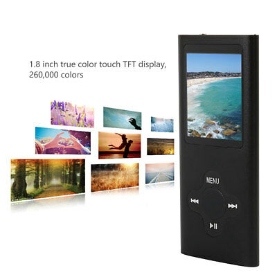 32GB Portable MP3 MP4 Music Video Media Player FM Radio 1.8 inch TFT LCD  screen