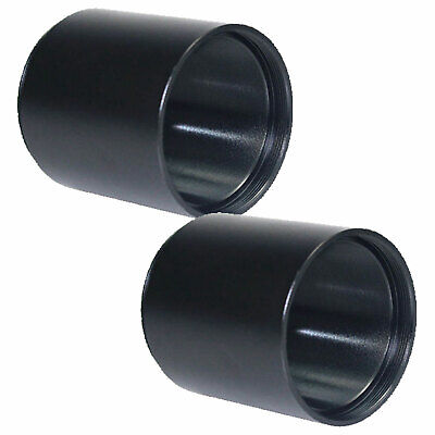 2Pcs M42x0.75 2 Sides T2 Extension Thread Ring Tube for Astronomical Telescope