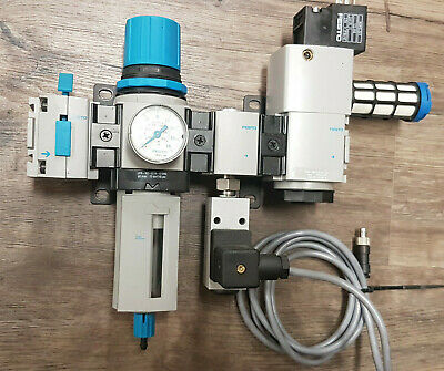 FESTO LFR-M2-G1/4-E10-RG, HEM-M2-G1/4-10 Wartungseinheit - TOP - worldwide ship