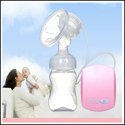 Automatic Electric Breast Suction Milk Pumps Baby Feeding Bottle w/USB Extractor