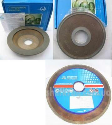 3 inch 75x6mm 12А2-45 Cup Tool Diamond Grinding Wheel Carbide Hole 20mm Type
