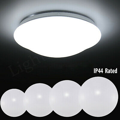 Round LED Ceiling Light Panel Down Lights Living Room Bathroom Kitchen Wall Lamp
