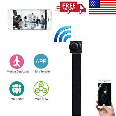 Wireless WiFi Mini Hidden Spy Camera HD 1080P Digital Video Motion Activated Cam