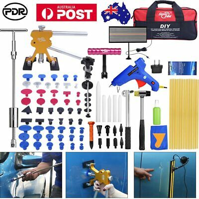 95x PDR Tools Auto Body Paintless Hail Removal Repair LED Line Board Dent Lifter
