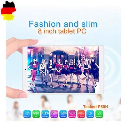 """Teclast 8"""" 1GB+8GB Tablet PC Android7.0 HD Tablette 4Core GPS WIFI Bluetooth"""