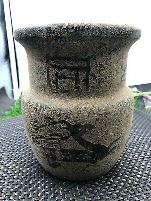 Collect ancient jade vase of Chinese red mountain culture