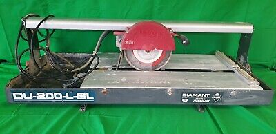 Rubi DU 200 L BL 230v Wet Saw Electric Tile Cutter - 25973