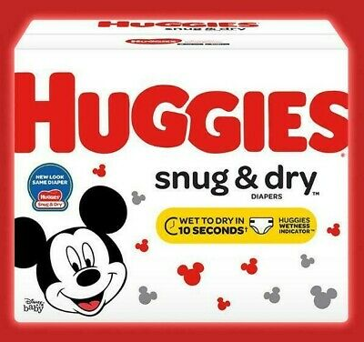 HUGGIES Snug & Dry Disposable Diapers Size 3 (16-28lbs) *Free 2 day shipping