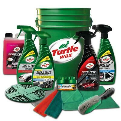 Turtle Wax 51067 13 Pack Ultimate Wash Wax Car Kit Cleaning Bucket