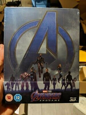 Avengers Endgame - Limited Edition Steelbook (Blu-ray 2D/3D; Bonus Disc) NEW!!