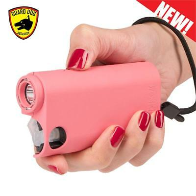 3 IN 1 PEPPER SPRAY LED Rechargeable STUN GUN Flashlight Self Defense