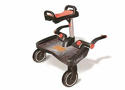 Lascal Buggy Board Maxi+ Black / Net - Platform for Carrito.enganche Universal