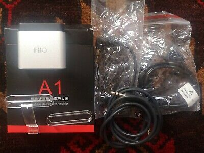 FiiO A1 Mini Portable Headphone Amplifier (Upgrade of FiiO E6)